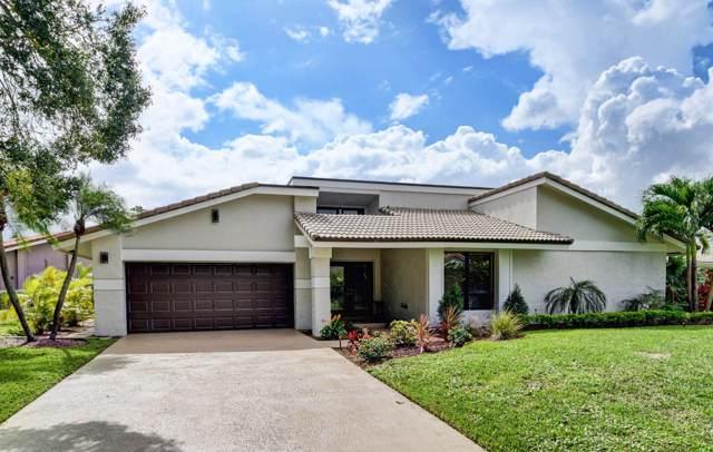 678 Lakewoode Circle E, Delray Beach, FL 33445 (#RX-10575838) :: Real Estate Authority