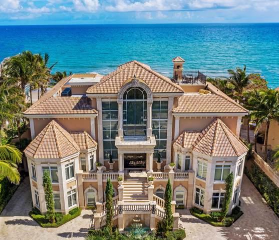 4217 S Ocean Boulevard, Highland Beach, FL 33487 (#RX-10576538) :: Harold Simon | Keller Williams Realty Services