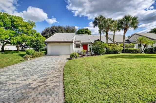 22 Clubhouse Circle, Boynton Beach, FL 33436 (#RX-10576665) :: Ryan Jennings Group