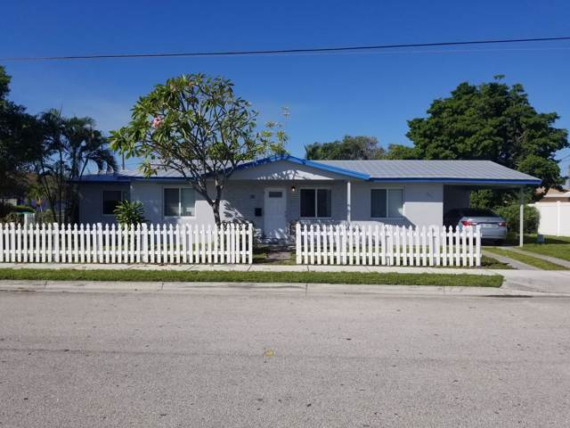 601 Avenue G, Riviera Beach, FL 33404 (#RX-10577027) :: Ryan Jennings Group