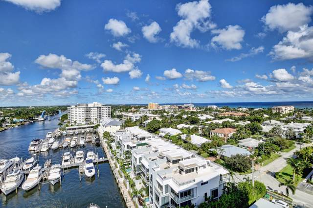 200 Macfarlane Drive N-1204, Delray Beach, FL 33483 (#RX-10577226) :: Ryan Jennings Group