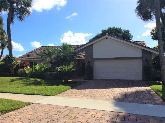 2250 Deer Creek Trail, Deerfield Beach, FL 33442 (MLS #RX-10578114) :: Castelli Real Estate Services