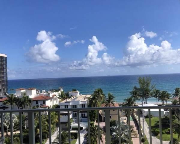 3594 S Ocean Boulevard #803, Highland Beach, FL 33487 (#RX-10578384) :: Ryan Jennings Group