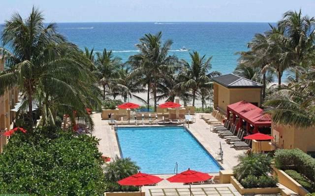 3800 N Ocean Drive #415, Singer Island, FL 33404 (#RX-10580208) :: Ryan Jennings Group