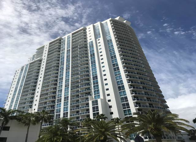 1945 S Ocean Drive #1514, Hallandale, FL 33009 (MLS #RX-10581838) :: Berkshire Hathaway HomeServices EWM Realty