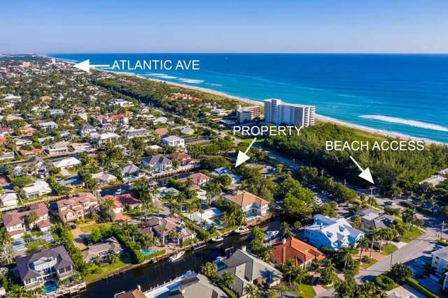 1033 Rhodes Villa Avenue, Delray Beach, FL 33483 (MLS #RX-10581964) :: Berkshire Hathaway HomeServices EWM Realty
