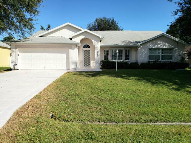 6943 NW Daffodil Lane, Port Saint Lucie, FL 34983 (MLS #RX-10582435) :: Berkshire Hathaway HomeServices EWM Realty