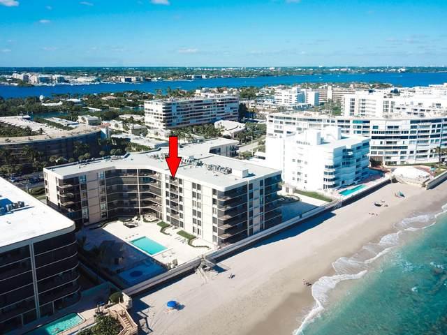 3610 S Ocean Boulevard #602, South Palm Beach, FL 33480 (#RX-10586084) :: Ryan Jennings Group