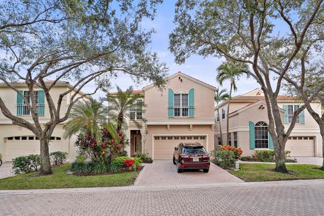 81 Via Verona, Palm Beach Gardens, FL 33418 (#RX-10586757) :: Ryan Jennings Group