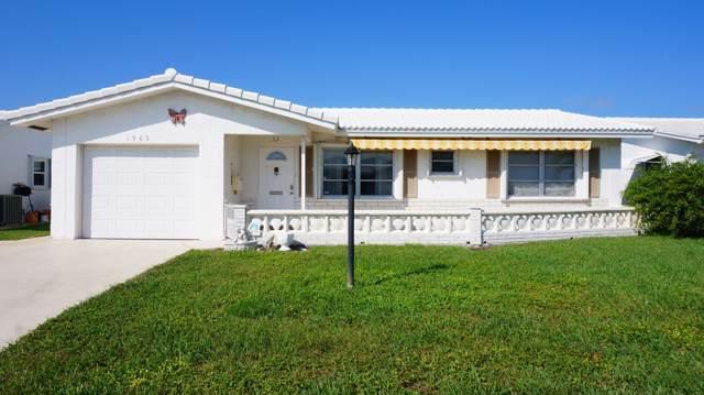 1905 SW 17th Street, Boynton Beach, FL 33426 (#RX-10587440) :: Ryan Jennings Group