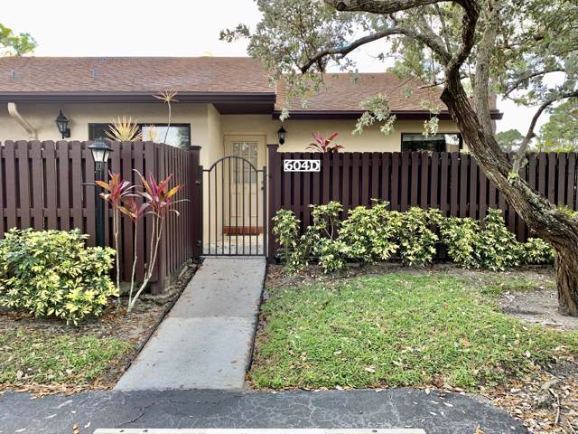 604 Sea Pine Way D, Greenacres, FL 33415 (#RX-10588633) :: Ryan Jennings Group