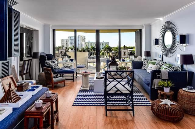 1200 S Flagler Drive #606, West Palm Beach, FL 33401 (MLS #RX-10590668) :: Berkshire Hathaway HomeServices EWM Realty