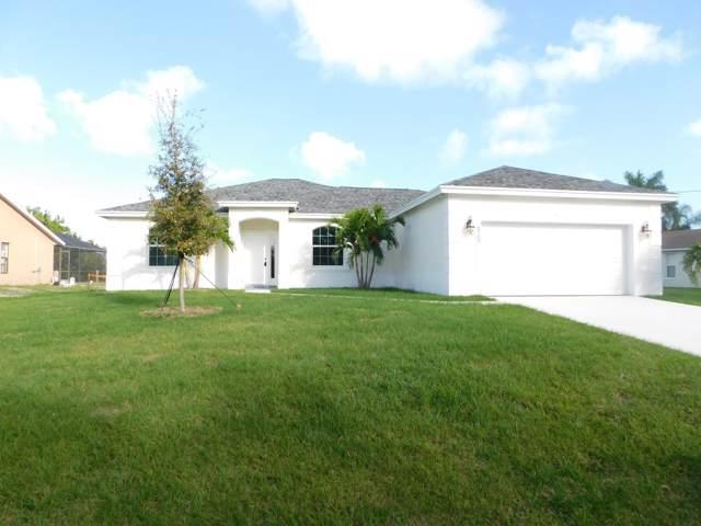 6709 NW Dorothy Street NW, Port Saint Lucie, FL 34953 (MLS #RX-10591270) :: Berkshire Hathaway HomeServices EWM Realty