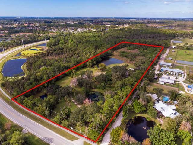 1050 Tilton Road, Port Saint Lucie, FL 34952 (MLS #RX-10595241) :: Berkshire Hathaway HomeServices EWM Realty