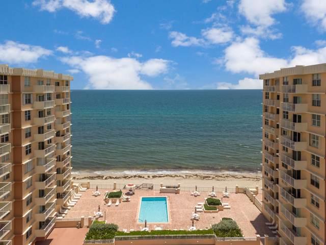 4511 S Ocean Boulevard #802, Highland Beach, FL 33487 (#RX-10595893) :: Ryan Jennings Group