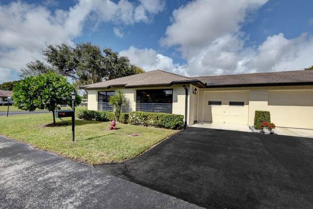 4820 Equestrian Circle A, Boynton Beach, FL 33436 (#RX-10596559) :: Ryan Jennings Group