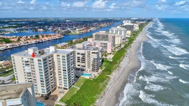 3015 S Ocean Boulevard 5D, Highland Beach, FL 33487 (#RX-10596941) :: Ryan Jennings Group