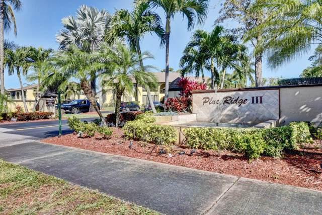 304 Pine Ridge Circle B-1, Greenacres, FL 33463 (#RX-10597166) :: Ryan Jennings Group
