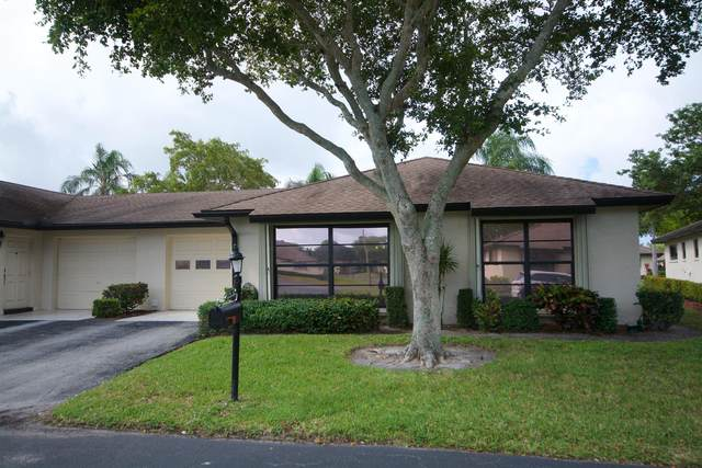 4791 Quailwood Terrace B, Boynton Beach, FL 33436 (#RX-10597566) :: Ryan Jennings Group