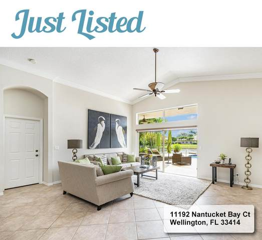 11192 Nantucket Bay Court, Wellington, FL 33414 (#RX-10597598) :: Ryan Jennings Group