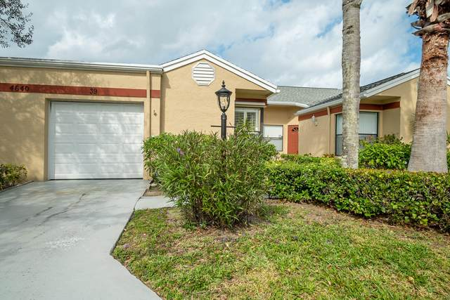 4640 Homestead Way #39, West Palm Beach, FL 33417 (#RX-10598359) :: Ryan Jennings Group