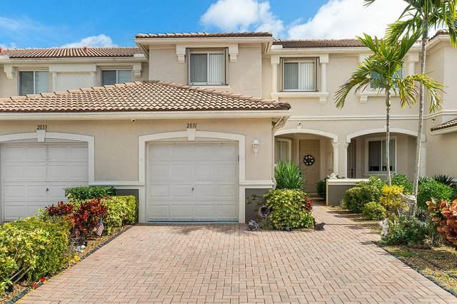 2031 Oakhurst Way, Riviera Beach, FL 33404 (MLS #RX-10599111) :: Berkshire Hathaway HomeServices EWM Realty