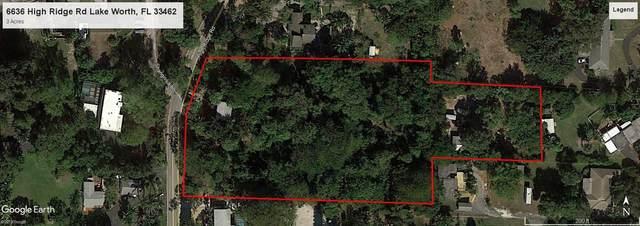 6636 High Ridge Road, Lake Worth, FL 33462 (#RX-10599474) :: Ryan Jennings Group