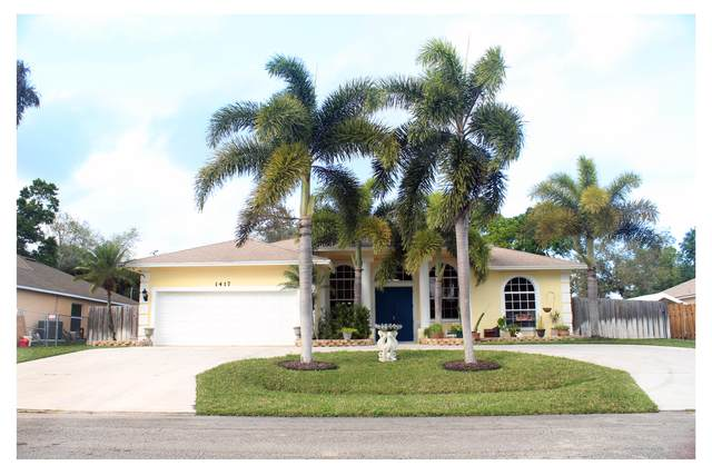 1417 SW Sudder Avenue, Port Saint Lucie, FL 34953 (#RX-10600391) :: Ryan Jennings Group