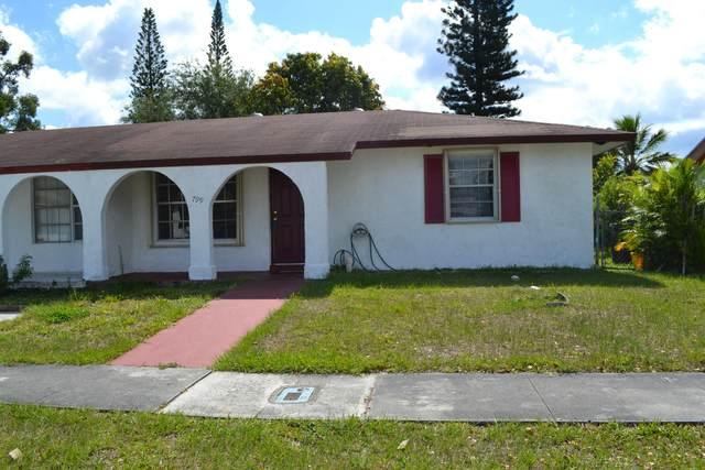 799 Ilene Road E, West Palm Beach, FL 33415 (MLS #RX-10600689) :: The Paiz Group