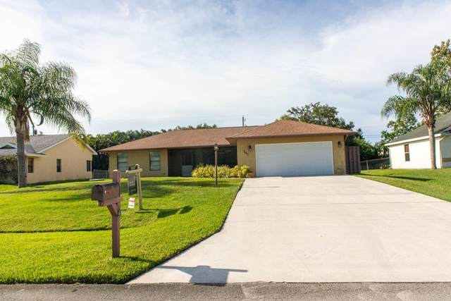 741 SE Majestic Terrace, Port Saint Lucie, FL 34983 (MLS #RX-10603706) :: Berkshire Hathaway HomeServices EWM Realty
