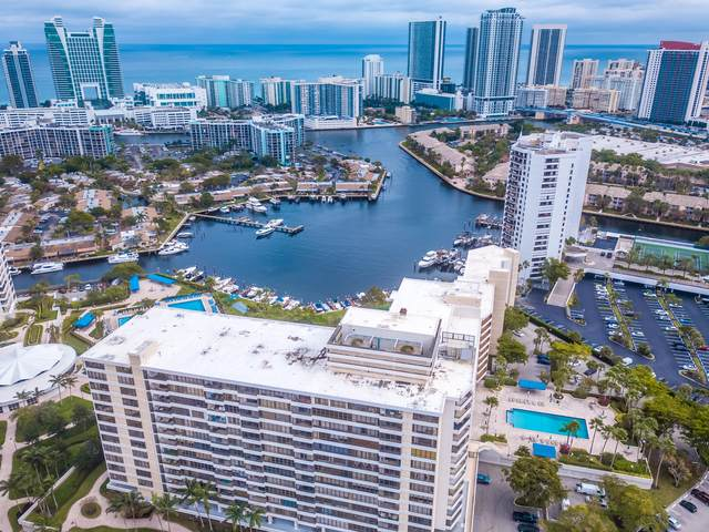 500 Three Islands Boulevard #521, Hallandale Beach, FL 33009 (#RX-10604086) :: Ryan Jennings Group