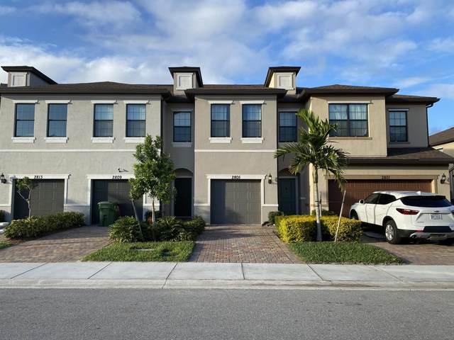 2805 Bard Street, Palm Springs, FL 33406 (#RX-10604152) :: Ryan Jennings Group
