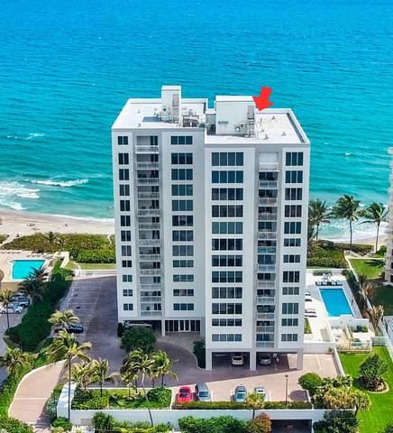3015 S Ocean Boulevard #1102, Highland Beach, FL 33487 (#RX-10604844) :: Ryan Jennings Group