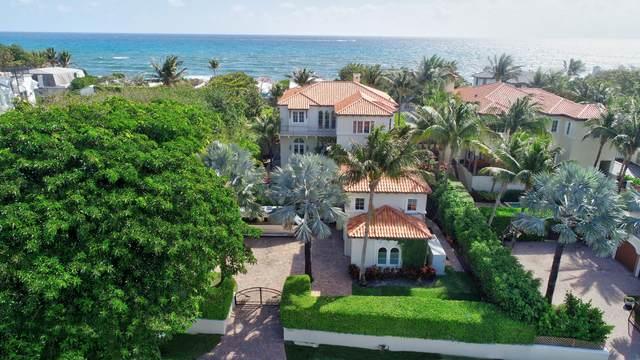 6103 N Ocean Boulevard, Ocean Ridge, FL 33435 (#RX-10605719) :: Posh Properties