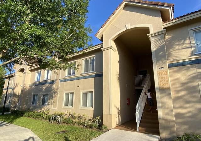 1103 Golden Lakes Blvd #1023, West Palm Beach, FL 33411 (#RX-10609974) :: Ryan Jennings Group