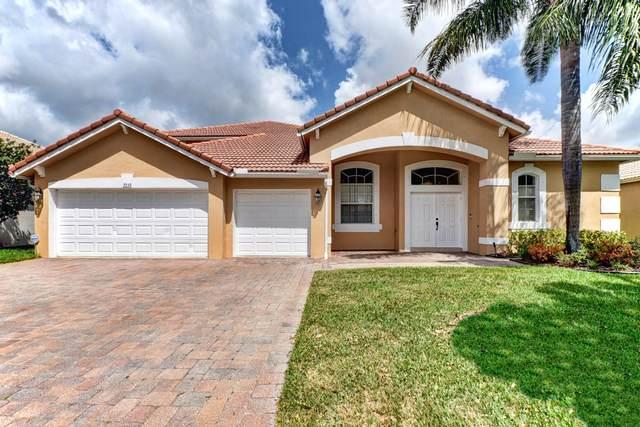 7339 Serrano Ter Terrace, Delray Beach, FL 33446 (#RX-10611534) :: Ryan Jennings Group