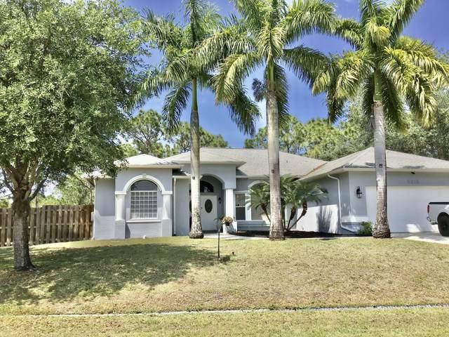5815 NW Chesboro Terrace, Port Saint Lucie, FL 34986 (#RX-10614960) :: Ryan Jennings Group