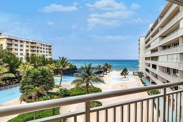 3546 S Ocean Boulevard #523, South Palm Beach, FL 33480 (MLS #RX-10616467) :: Berkshire Hathaway HomeServices EWM Realty