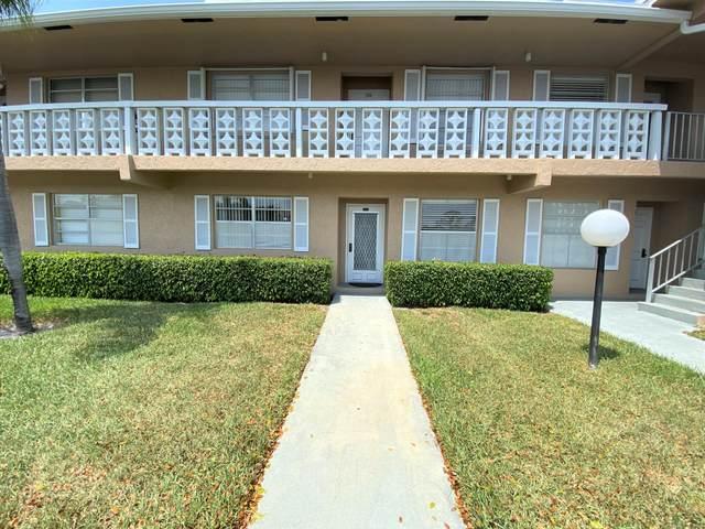 2601 Red Hibiscus Boulevard #103, Delray Beach, FL 33445 (MLS #RX-10616938) :: Berkshire Hathaway HomeServices EWM Realty