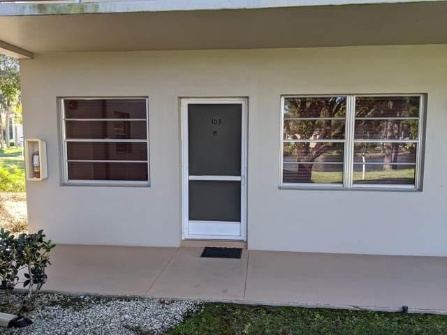 5 Lake Vista Trail #103, Port Saint Lucie, FL 34952 (#RX-10617636) :: Ryan Jennings Group