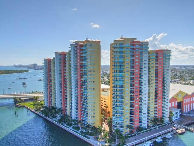 2640 Lake Shore Drive #1515, Riviera Beach, FL 33404 (MLS #RX-10619215) :: Berkshire Hathaway HomeServices EWM Realty