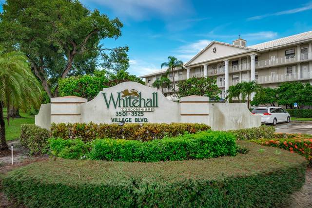 3511 Village Boulevard #201, West Palm Beach, FL 33409 (MLS #RX-10620191) :: Castelli Real Estate Services
