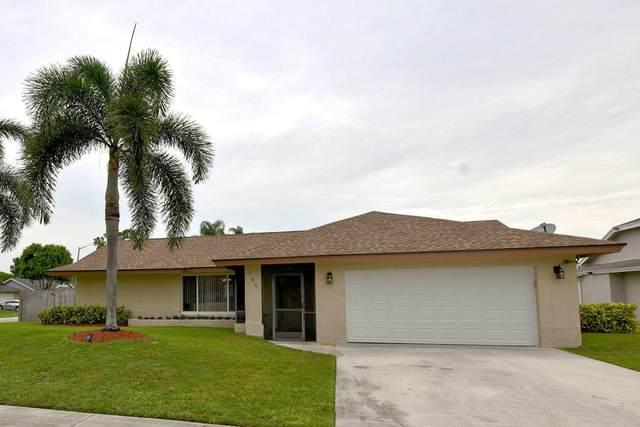 185 Parkwood Drive, Royal Palm Beach, FL 33411 (#RX-10623750) :: Ryan Jennings Group