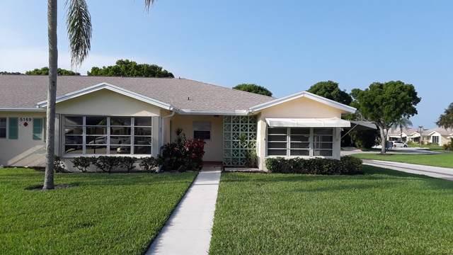 5169 Lakefront Boulevard D, Delray Beach, FL 33484 (#RX-10625517) :: Ryan Jennings Group