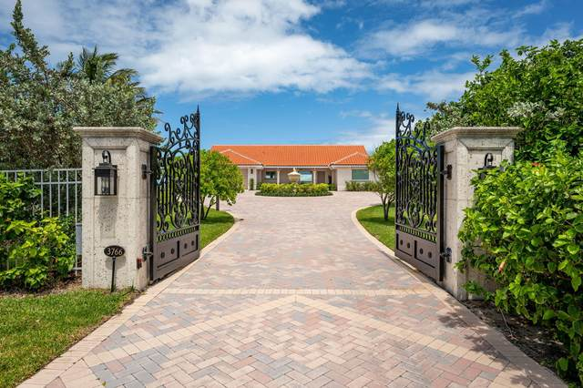 3766 Ocean Drive, Vero Beach, FL 32963 (MLS #RX-10626877) :: THE BANNON GROUP at RE/MAX CONSULTANTS REALTY I