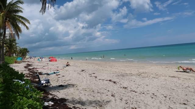 3127 S Ocean Drive #224, Hallandale Beach, FL 33009 (MLS #RX-10627827) :: Berkshire Hathaway HomeServices EWM Realty