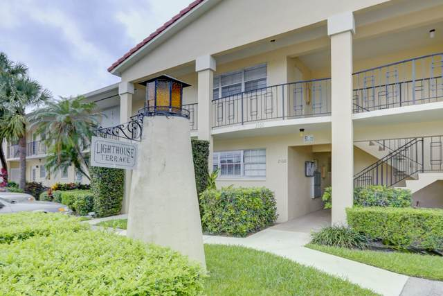 2134 NE 36th Street #80, Lighthouse Point, FL 33064 (#RX-10627869) :: The Rizzuto Woodman Team