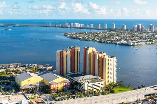 2640 Lake Shore Drive #1512, Riviera Beach, FL 33404 (MLS #RX-10628645) :: Berkshire Hathaway HomeServices EWM Realty