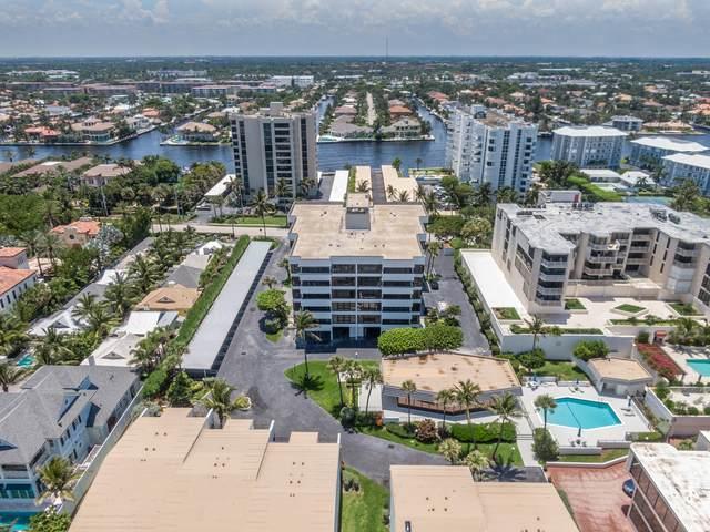 2175 S Ocean Boulevard #401, Delray Beach, FL 33483 (MLS #RX-10629439) :: Berkshire Hathaway HomeServices EWM Realty