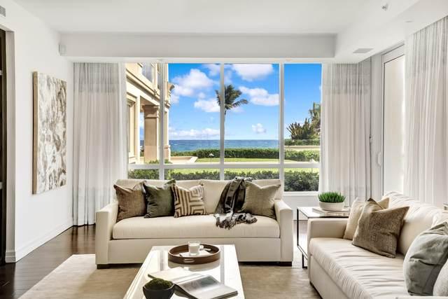 4001 N Ocean Boulevard #106, Gulf Stream, FL 33483 (#RX-10630200) :: Posh Properties